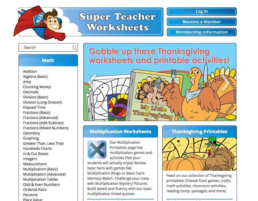 screenshot superteacherworksheets2 1