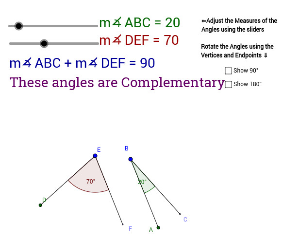 Supplementary Angle Relationships View Worksheet