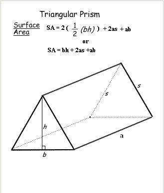 Surface area of triangle Prism Formula JPG