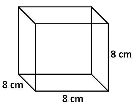 3 Find the surface area of the triangular prism given below