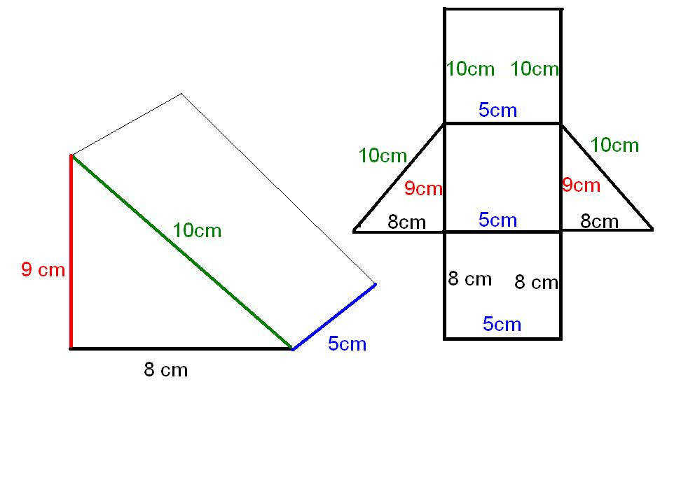 Find Surface Area Triangular Prism