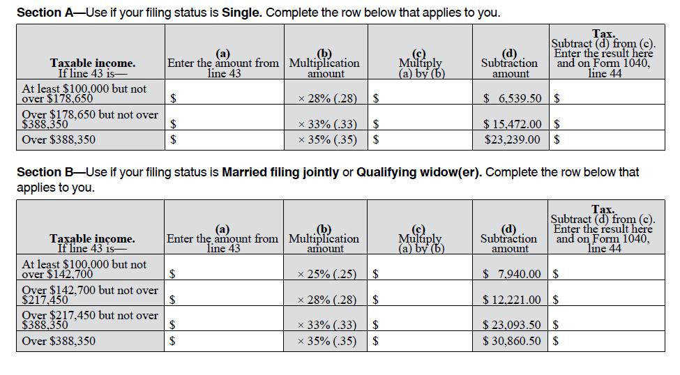 Marriage Penalty