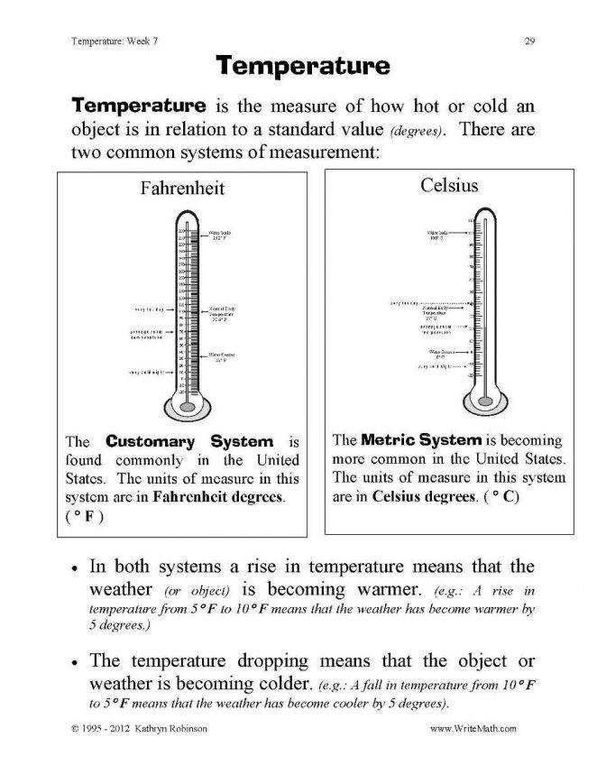 Teaching Temperature Worksheets 3rd 4th 5th Grade Math line Final Pd 5th Grade Math Measurement Worksheets