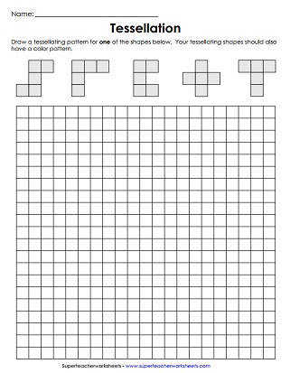 Tessellation Worksheet