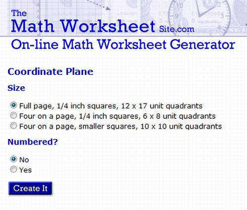 The Math Worksheet Site | Homeschooldressage.com