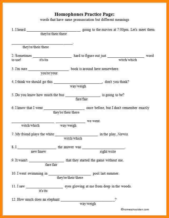 5 their they re there worksheet