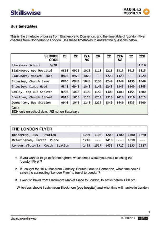 Ma25time L1 W Bus Timetables 752x1065 Jpg Math Times Tables Worksheets 3rd Math Time Table Worksheets