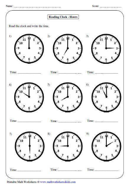 Great worksheets for telling time perfect for year For more worksheets visit the website below