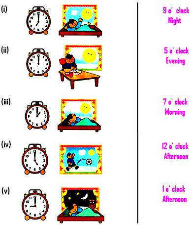 Worksheet on Time