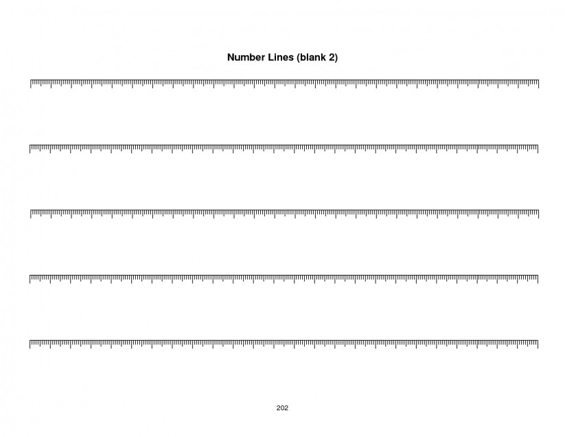 Number Line Addition Worksheet Touch Math Worksheets Blank Number Template