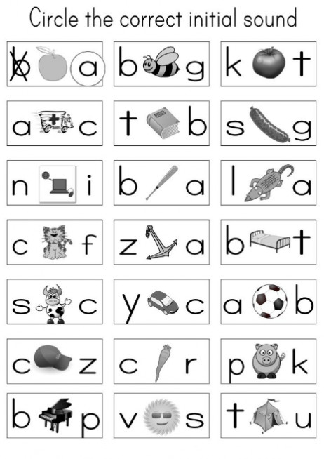 Tracing letters worksheets