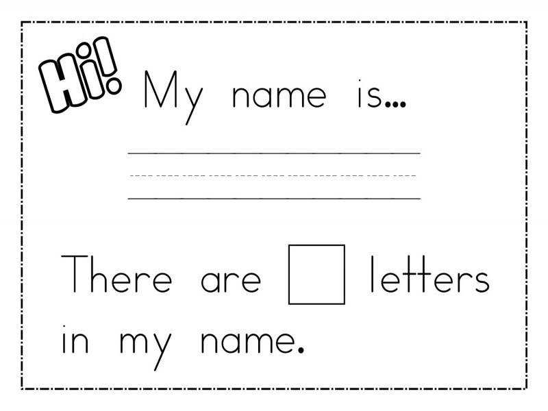 Name Trace Worksheets Printable