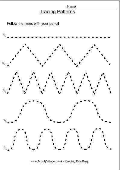 Preschool Tracing Lines Worksheets Image Search Results cakepins School Pinterest