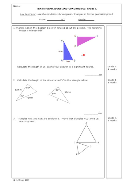 All Worksheets transformations worksheet posite Transformations Worksheet browse
