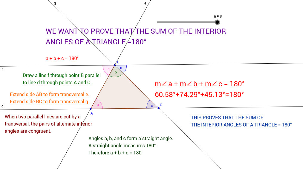 Triangle Angle Sum Theorem View Worksheet