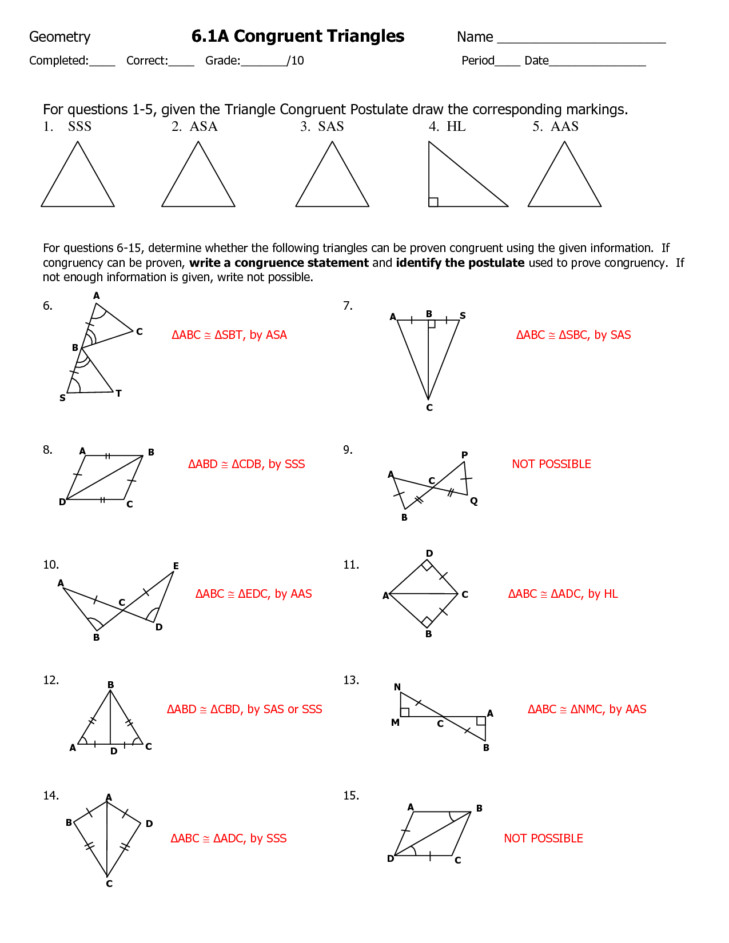 Medium Size of Worksheet triangle Congruence Proofs Worksheet With Answers What Does Cpctc Mean Geometry