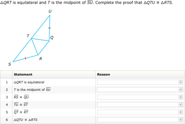 IXL Proving triangles congruent by SSS SAS ASA and AAS Geometry practice