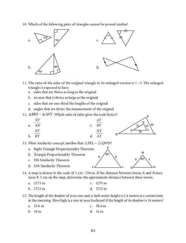 triangle proofs grade 9 mathematics module 6 similarity