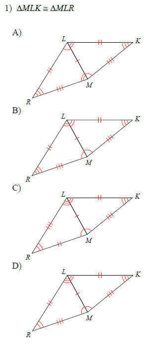 Congruent Triangles Triangles and Congruence Medium