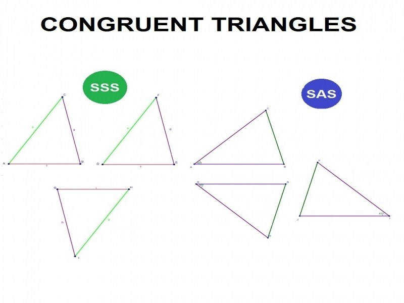 Triangle Similarity Theorems