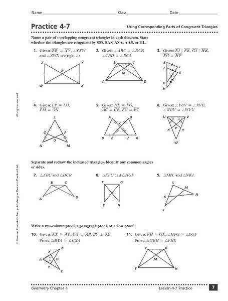 Congruent Triangles KS3KS4 with Solutions by hassan2008 Teaching