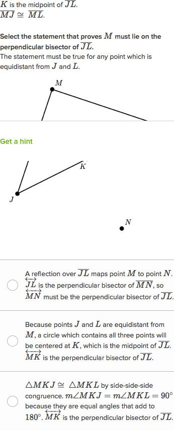 line and angle proofs