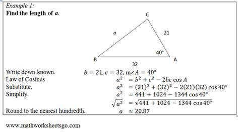 geometry honors trigonometry word problems worksheet pdf of cosines worksheet free pdf with answer key visual