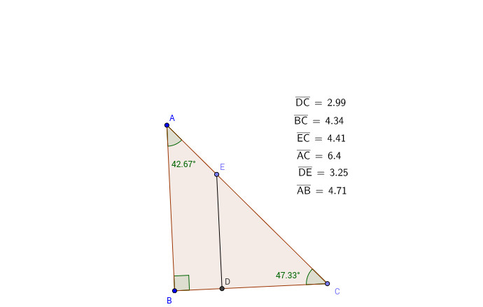 What are some things you notice about the ratios above Explain your thinking Why do similar triangles produce the results you ve obtained above