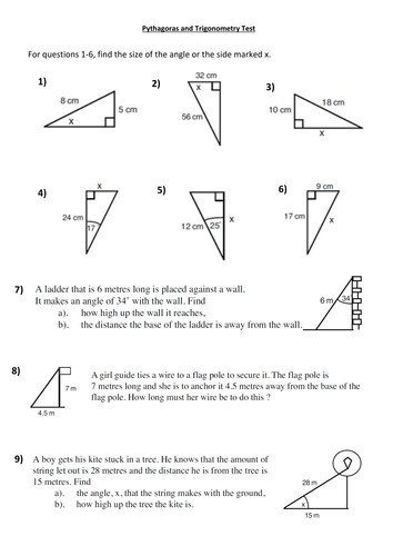 Sin Cos Tan Worksheet Free Worksheets Library Download and Print to her with further further Maths Trigonometry