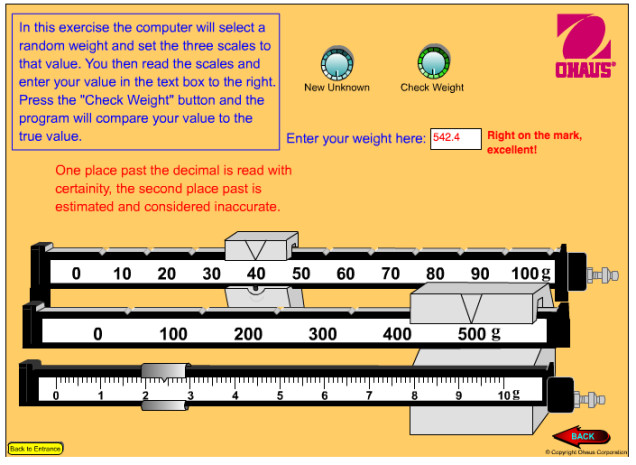 Image Ohaus Scale Reading Exercise Image Ohaus Scale Reading Exercise Reading a Triple Beam Balance Worksheet