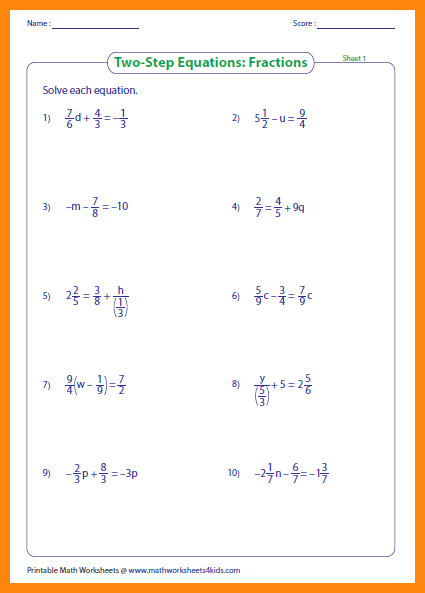two step equations worksheetactions large