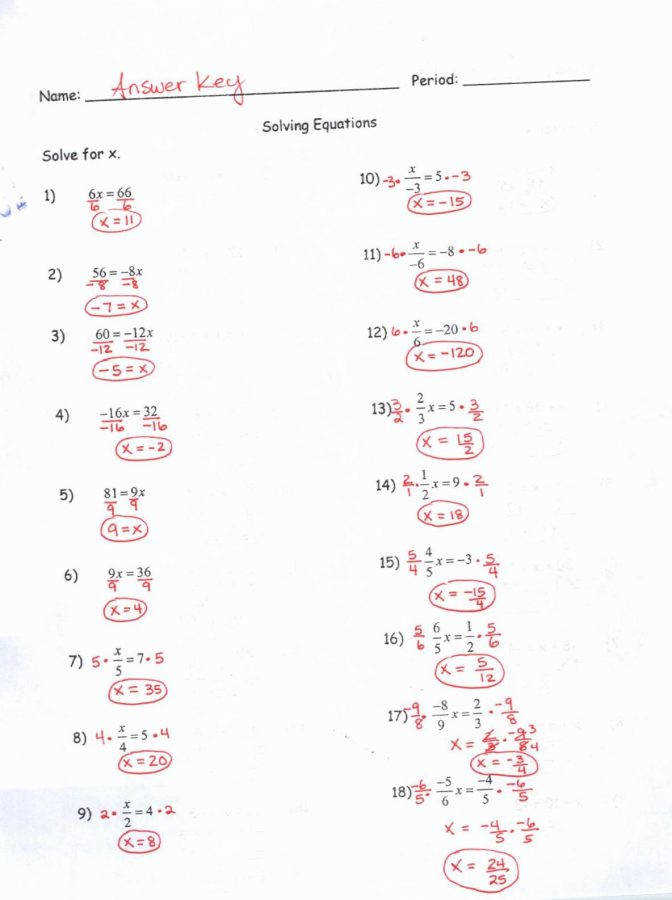Kuta Two Step Equations With Integers Jennarocca Solving Multi Worksheet Generator 1 Solving Multiple Step Equations
