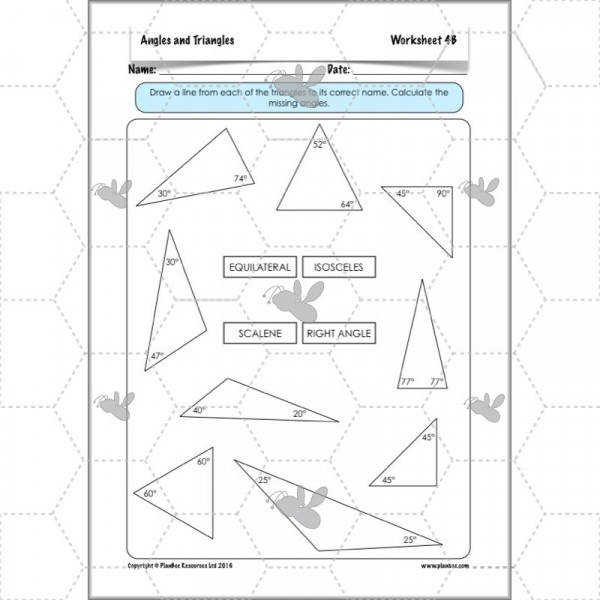 Angles and Triangles Special Types of Triangles 9
