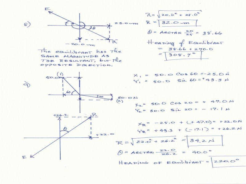 C7Chemistry Forces Vectors And Torque · Best Top Vector Addition Worksheet