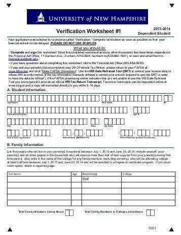 College Board Idoc Verification Worksheet The Best and Most