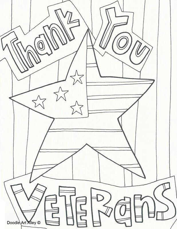 Free printable adult coloring page Veteran s Day coloring sheets