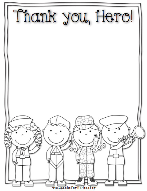 Download free Veteran s Day writing printables at A Cupcake for the Teacher Find more free