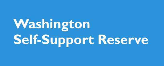 Washington uses federal poverty definitions in order to determine what the self support reserve is for calculating child support