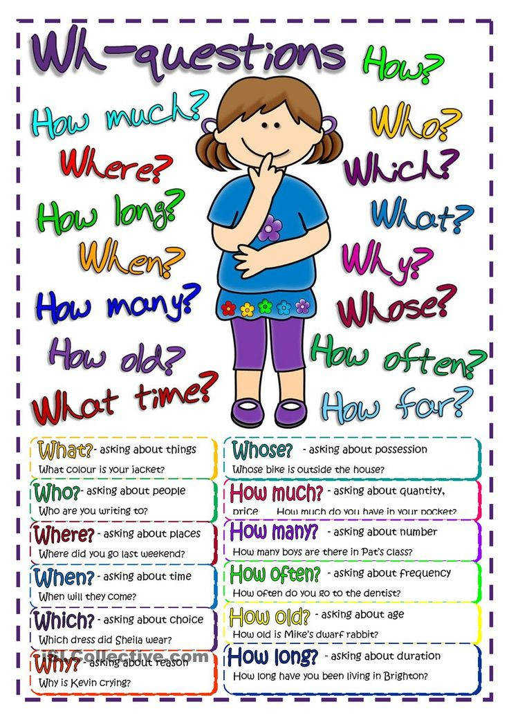 Questions poster worksheet Free ESL printable worksheets made by teachers