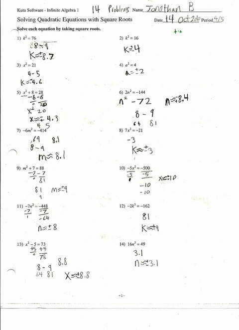 Simple What Is A Metaphor Math Worksheet Quadratic Formula Handy How To