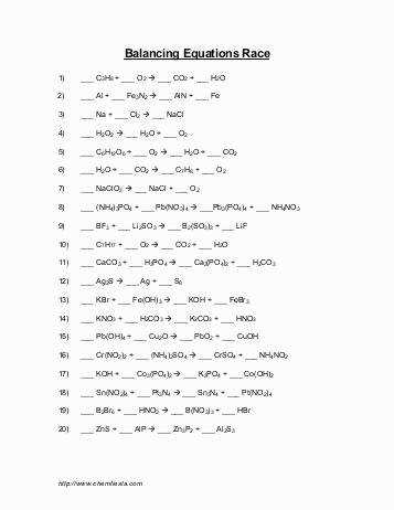 Word Equations Worksheet New Worksheets Writing Skeleton Equations Worksheet with Answers