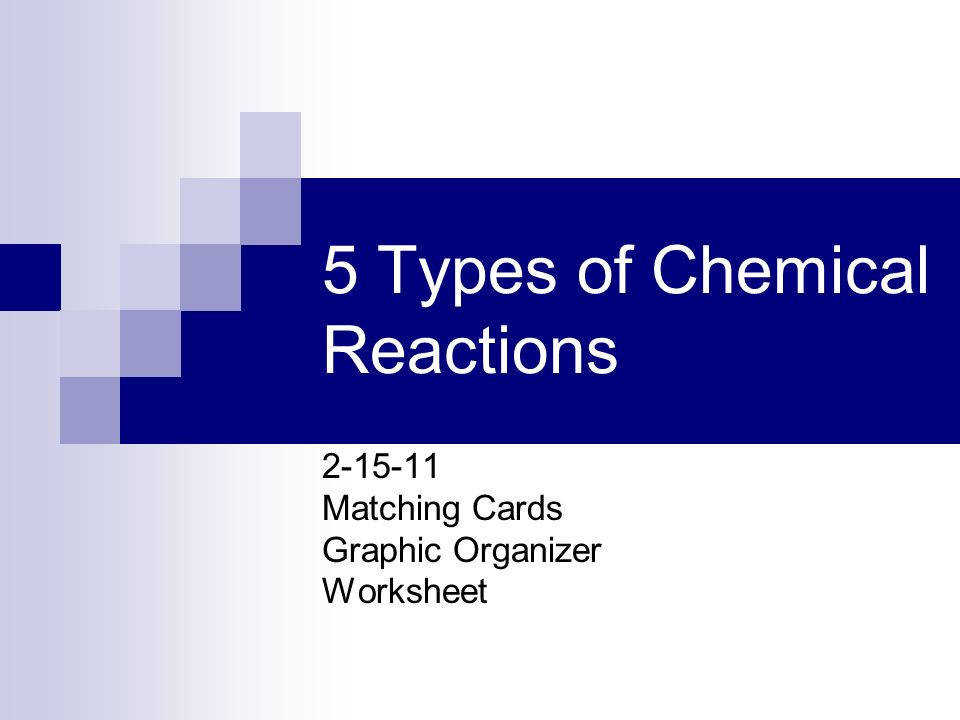 Worksheet 5 Double Replacement Reactions