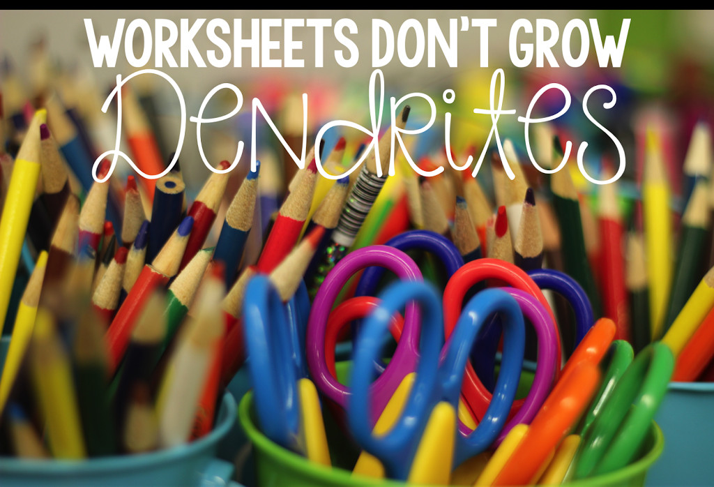 Worksheets Don t Grow Dendrites Chapters 1 and 2 Bookstudy