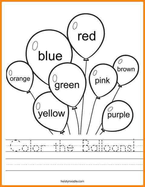 worksheets for 3 year olds 3 year old