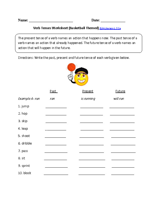 Language Worksheet