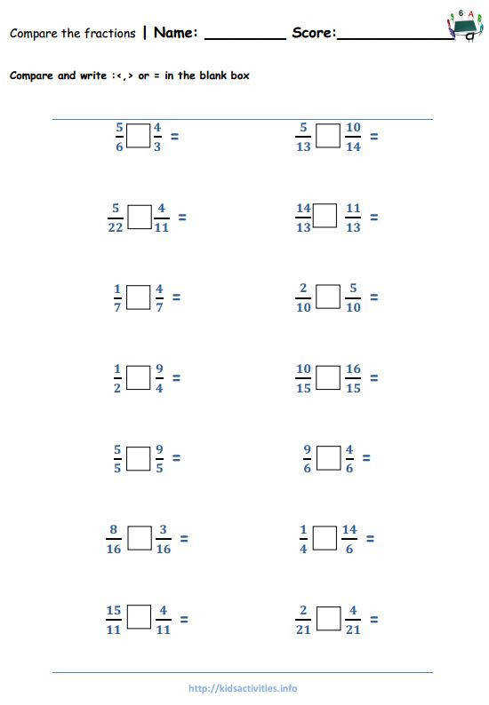 pare fractions