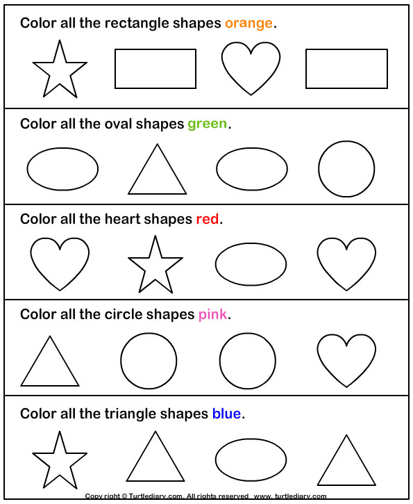 Preschool worksheets Printable Worksheets for Preschool Kids