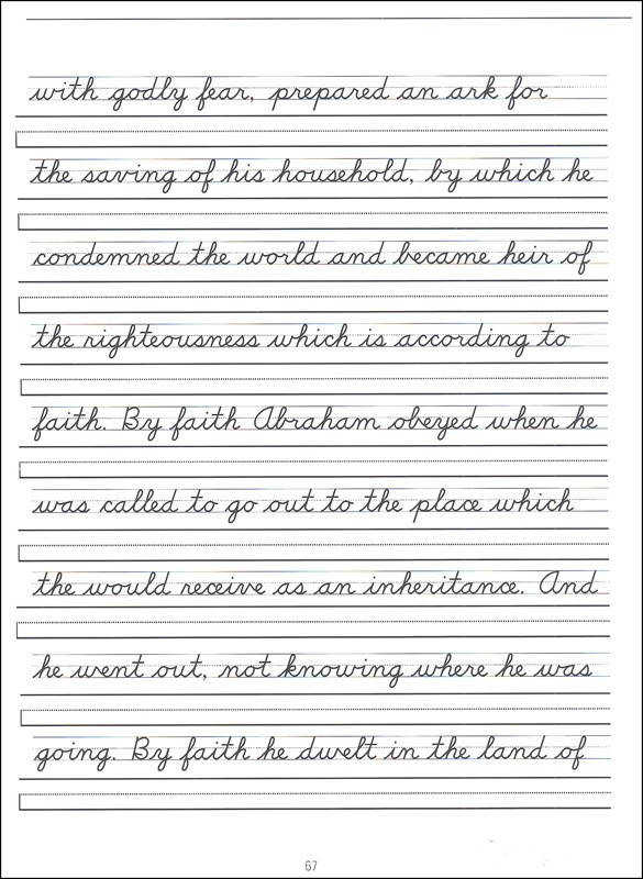 Awesome Collection of Cursive Writing Sentences Worksheets With Additional Sample Proposal
