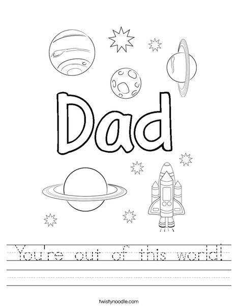 You re out of this world Worksheet