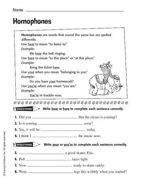 Your You Re Worksheet Chicochino Worksheets
